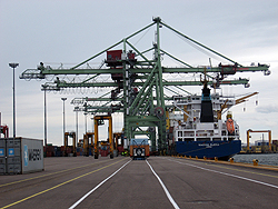 Terminal Operations in the Port of Kotka, Finland